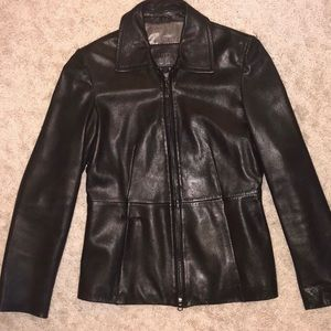 GUESS GENUINE LEATHER JACKET Woman's Small